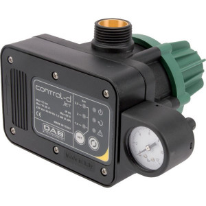 "DAB Pumps Pomp aansturing D-GSET - DAB60180931 | 65 °C | 12 bar | 1 l/min | 1"" BSP Inch | 1"" BSP Inch | 50/60 Hz | 1,5 kW | 185 mm | 190 mm"