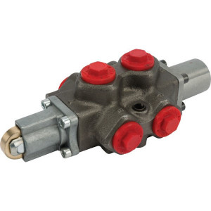 Walvoil 6-Wegventiel DF 10/6A-17C rolb - DF106004 | Gietstaal | 88,5 mm | 110 mm | 1/2 BSP | 315 bar | 90 l/min