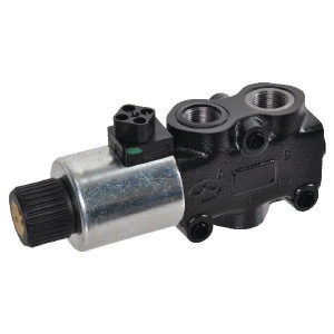 Walvoil 3-wegventiel 12VDC 3D18ES - DFE0523003 | Onder druk schakelbaar