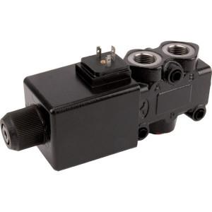 "Walvoil 3/2 Ventiel 12v DC 3A G 08 1 - DFE103003 | Onder druk schakelbaar | 90 l/min | 1/2"" BSP | 46,5 mm | 121 mm | 213 mm"