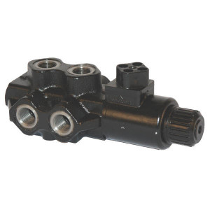 "Walvoil 6/2 Ventiel 12v DC 1/2 - DFE106003 | Exclusief stekker SP 666 | 88,5 mm | 121 mm | 2.404 mm | 90 l/min | 1/2"" BSP"