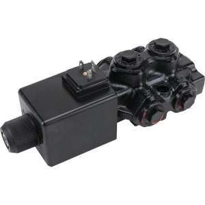 "Walvoil 6/2 Ventiel 24v DC 1/2 - DFE106004 | Exclusief stekker SP 666 | 88,5 mm | 121 mm | 2.404 mm | 90 l/min | 1/2"" BSP"