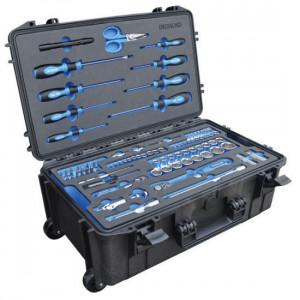 Deltach Mobiele gereedschapskoffer, gevuld in FOAM - 520505