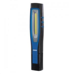 Draper Inspectielamp COB LED, oplaadbaar 10W, blauw - D11764