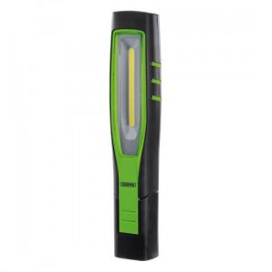 Draper Inspectielamp COB LED, oplaadbaar 10W, groen - D11765