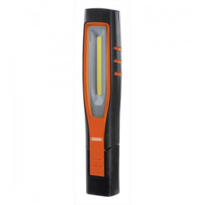 Draper Inspectielamp COB LED, oplaadbaar 10W, oranje - D11766