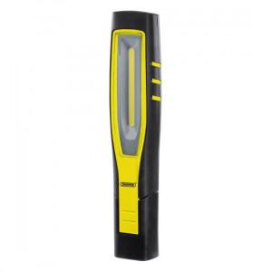 Draper Inspectielamp COB LED, oplaadbaar 10W, geel - D11767
