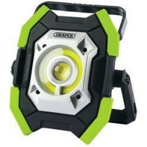 Draper Werklamp COB LED, oplaadbaar, 10-5W/1000 Lumen, groen - D31583