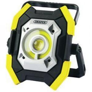 Draper Werklamp COB LED, oplaadbaar, 10-5W/1000 Lumen, geel - D87381