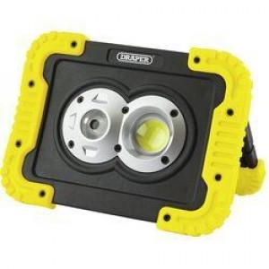 Draper Werklamp COB LED oplaadbaar, 10W/750 Lumen - D87737