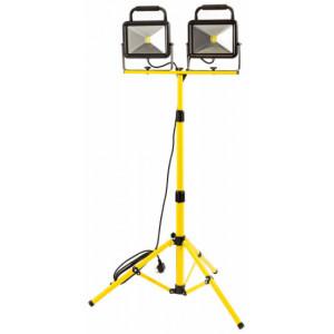 Draper LED Cob werklamp driepoot, 2x30W/3900lumen - D94501