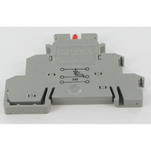 Phoenix Contact 3-etage Initiatorklem+LED, Ph - DIKD15LA24RDOM | 72,5 mm | 6,2 mm | 54,5 mm | 4 mm² | 2,5 mm² | 2,5 mm²