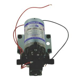 Shurflo Diafragmapomp 24V 11,3l/min - DIP2088474144 | 11,3 l/min | 3.1 bar | 3.1 bar | Polypropyleen | Verzinkt | 218 mm | 127 mm | 113 mm | 2,22 kg