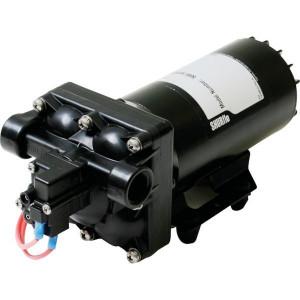 Shurflo Diafragmapomp 24 V 18 l/min - DIP50501310H011 | 18.9 l/min | 4.1 bar | 4.1 bar | Polypropyleen | 1/2 NPT Inch | 254 mm | 110 mm | 102 mm | 3,5 kg