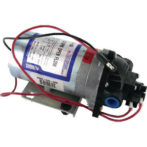 Shurflo Pomp - DIP8000543936 | 5.3 l/min | 4.1 bar | 4.1 bar | Polypropyleen | Verzinkt | 3/8 NPT Inch | 213 mm | 102 mm | 104 mm | 1,9 kg