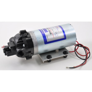 Shurflopomp 12 V 6,3 l/min - DIP8030813239 | 6.3 l/min | 10.3 bar | 10.3 bar | Verzinkt | 3/8 NPT Inch | 241 mm | 102 mm | 104 mm | 2,7 kg
