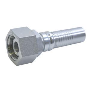 Alfagomma Pilaar 4SH-DN25-30S-M42x2,0 - DKOSH2542 | H1421613-164200 | D.m.v. conus met O-ring | DIN 2353 | 24 ° | 1 Inch | M 42x2,0 metrisch | 45,3 mm