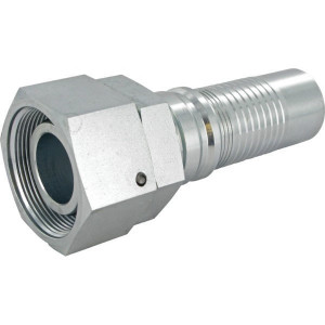 Alfagomma Pilaar 4SH-DN40-38S-M52x2,0 - DKOSH4052 | D.m.v. conus met O-ring | DIN 2353 | 24 ° | 1 1/2 Inch | M 52x2,0 metrisch | 45,3 mm