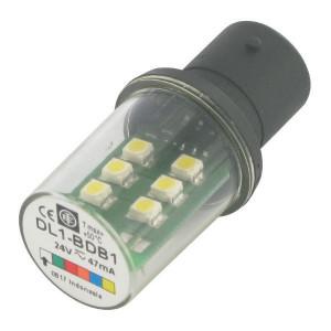 Schneider-Electric LED, wit, 24V, BA15D XBV - DL1BDB1