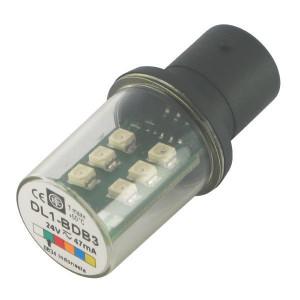 Schneider-Electric LED, groen, 24V, BA15D XVB - DL1BDB3
