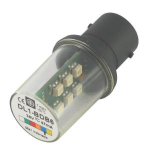 Schneider-Electric LED, blauw, 24V, BA15D XBV - DL1BDB6