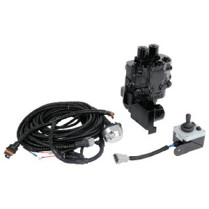 "Walvoil Set regelventiel LS, 12VDC - DLM1222001KIT | 1/4"" BSP | 80 l/min | 250 bar | 10 bar | Lastdetectie"