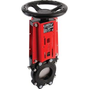 WEY Schuifafsl. + handwiel DN80 - DN080VNAN | 200 mm | 358 mm | 160 mm | 10 bar | M 16 mm | 200 mm