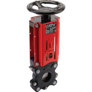 WEY Schuifafsl. + handwiel DN50 - DN50VNAN | 165 mm | 328 mm | 125 mm | 10 bar | M 16 mm | 150 mm