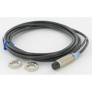 Omron Benaderschakelaar inductief - E2AM12KN08WPC1 | 12…24V DC V | 8 mm Sn | 800 Hz | NPN PNP/NPN | No M/V | Kabel Kabel / Connector | 200 mA | 2 m