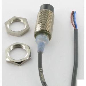 Omron Benaderschakelaar inductief - E2AM18KN16WPB1 | 12…24V DC V | Niet afgeschermd | 16 mm Sn | 400 Hz | PNP PNP/NPN | No M/V | Kabel Kabel / Connector | 200 mA | 2 m