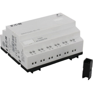 Eaton Uitbreiding,12I,8TO,24VDC - EASY620DCTE | Transistor Relais/Transistor | 0,5 A A/per stuk | 2A A A/totaal