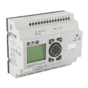 Eaton Stuurrelais Easy, 12I, 6RO - EASY719ACRC | 100...240V AC | Relais Relais/Transistor | 6 A A/per stuk | 132 x 64px.