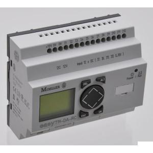 Eaton Stuurrelais Easy, 12I, 6RO - EASY719DCRC | 24V DC | Relais Relais/Transistor | 6 A A/per stuk | 132 x 64px.