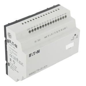 Eaton Stuurrelais Easy, 12I, 6RO - EASY719DCRCX | 24V DC | Relais Relais/Transistor | 6 A A/per stuk
