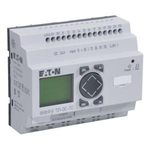 Eaton Stuurrelais Easy, 12I, 8TO - EASY721DCTC | 24V DC | Transistor Relais/Transistor | 0,5 A A/per stuk | 132 x 64px.