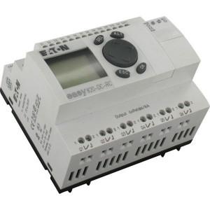 Eaton Stuurrelais, 12DI,8TO,24VDC - EASY821DCTCX | Transistor Relais/Transistor | 0,5 A A/per stuk | 2 A A/totaal