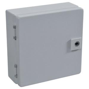 Rittal Kast, plaatstaal, 200x200x80mm - EB1546500 | 200 mm | 200 mm | 80 mm