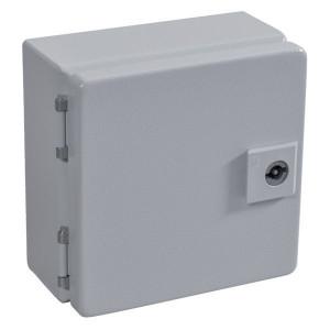 Rittal Kast, plaatstaal, 150x150x80mm - EB1551500 | 150 mm | 150 mm | 80 mm