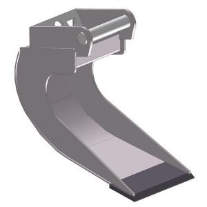 Banaanbak 300mm LH01 - EBBTLH01A300KR | Lange levensduur | Levering zonder tanden | SW01 Lehnhoff-Aufnahme | 0,8 1,2 ton | 110 x 16 | 21 l | 300 mm