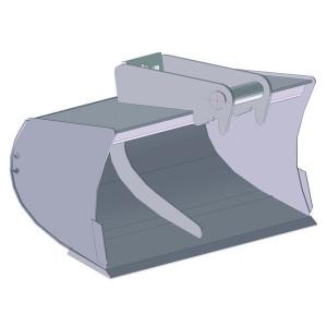 Slotenbak 1000mm LH01 - EBSTLH01B1000KR | Lange levensduur | Levering zonder tanden | 67 kg | SW01 Lehnhoff-Aufnahme | 1,2 2,0 ton | 150 x 16 | 76 l | 1.000 mm