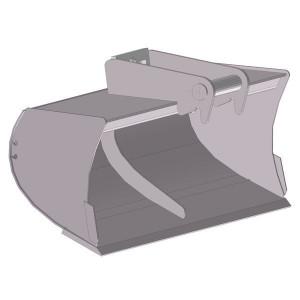 Slotenbak 1200mm LH03 - EBSTLH03D1200KR | Lange levensduur | Levering zonder tanden | 106 kg | SW03 Lehnhoff-Aufnahme | 2,6 3,8 ton | 150 x 16 | 143 l | 1.200 mm
