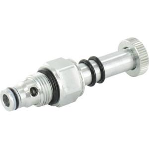 Walvoil 2/2 klep NO Patroon 40 l/min - EC08M10NB | 40 l/min | 380 bar | 672 mm | EC9BER... V | SAE 8/2 BSP