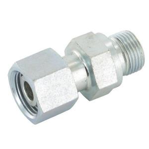 Gopart Inschroefkopp. EGESD-WD 50 St - EGES15L12P050GP | Voorgemonteerd met O-ring | Minder kans op lekkage | Staal. | 1/2 BSP | 400 bar | 15 mm | M22x1,5 metrisch