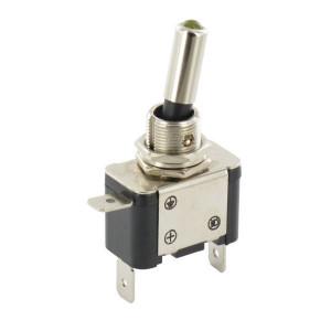 Schakelaar aan/uit LED amber - EL192225 | Inbouwmaat 12.5 mm | LED, geel