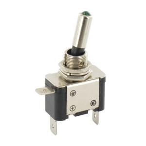 Schakelaar aan/uit LED Groen - EL192226 | Inbouwmaat 12.5 mm | LED, groen