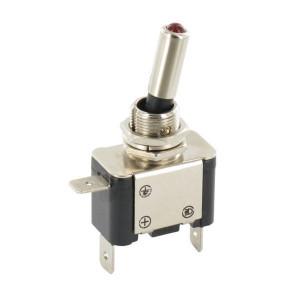 Schakelaar aan/uit LED rood - EL192227 | Inbouwmaat 12.5 mm | LED, rood