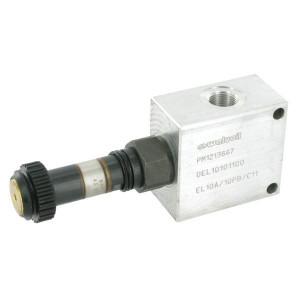 "Walvoil 3/2 Ventiel 25L 3/8 BSP zonder spoel - EL910A001 | Exclusief stekker SP 666 | 3/8"" BSP | 210 bar"