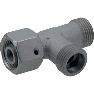 Voss Koppeling 12S - ELSD12S | 2S snijring | Zink / Nikkel | 12 mm | 21,5 mm | 31,0 mm | 10 x 1,5 | 630 bar | M20x1,5 metrisch
