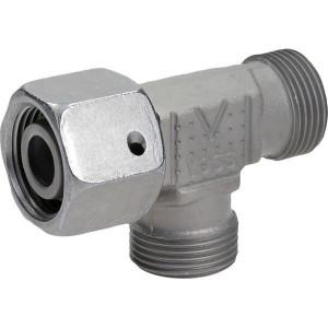 Voss Koppeling 15L - ELSD15L | 2S snijring | Zink / Nikkel | 15 mm | 32,5 mm | 13 x 1,5 | 400 bar | M22x1,5 metrisch