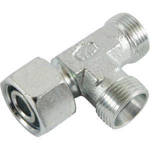 Voss Koppeling 8L - ELSD8L | 2S snijring | Zink / Nikkel | 8 mm | 27,5 mm | 6 x 1,5 | 500 bar | M14x1,5 metrisch